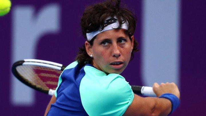 Tenismena Carla Suarez Navarro a revenit la antrenamente după ce a câștigat lupta cu o boală nemiloasă