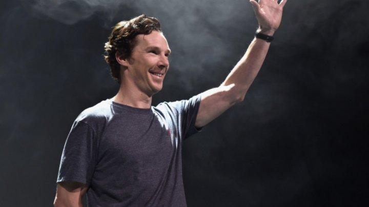 """Actorul Benedict Cumberbatch crede că a fost """"pacientul zero"""" al pandemiei"""