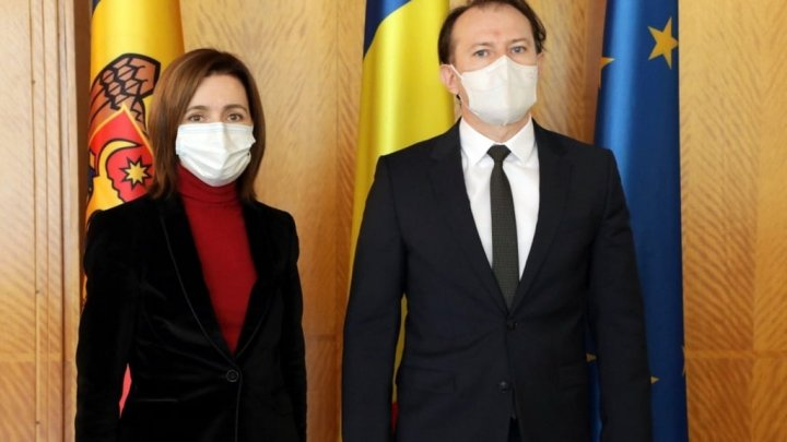 Florin Cîţu, după întâlnirea cu Maia Sandu: Indiferent de ce parte a Prutului trăim, suntem cu toţii preocupaţi să gestionăm cât mai bine pandemia şi să protejăm sănătatea cetăţenilor