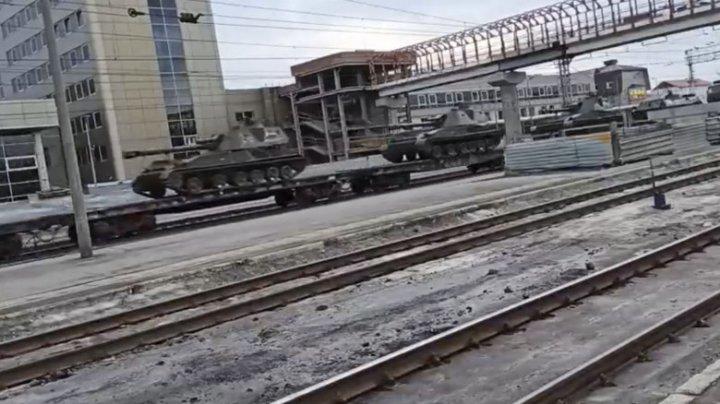 Germania acuză Rusia de provocări în cazul mobilizării de trupe la granița cu Ucraina