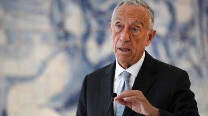 """Portugalia ridică starea de urgenţă. Marcelo Rebelo de Sousa: """"Reducerea numărului de decese şi de persoane spitalizate au cântărit în decizia mea"""""""