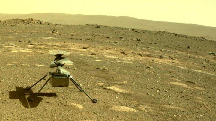 NASA a amânat zborul istoric de pe Marte al elicopterului Ingenuity