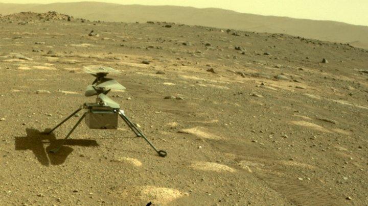 Elicopterul Ingenuity a trecut peste cea mai critică etapă și poate zbura pe Marte