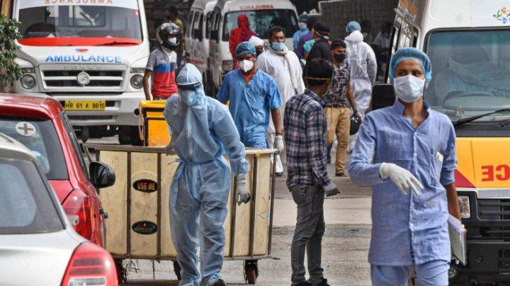 New Delhi intră în lockdown de luni seara