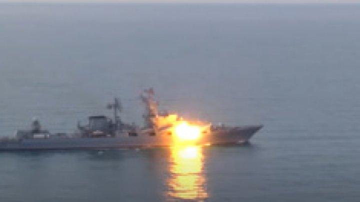 Rusia a lansat în premieră o rachetă antinavă supersonică în Marea Neagră