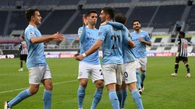 Manchester City s-a impus în fața Newcastle United cu 4-3
