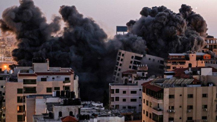 Metropola israeliană Tel Aviv, ţinta unui atac masiv cu rachete lansate din Fâşia Gaza