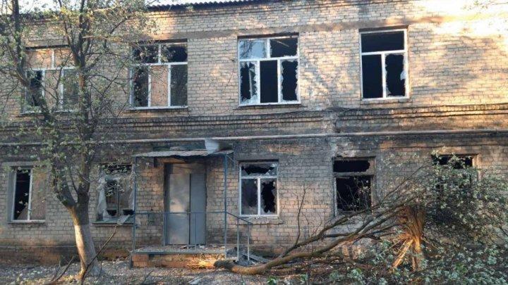 Alertă în Ucraina! Un spital COVID-19, grav avariat de explozia unui obuz (VIDEO)