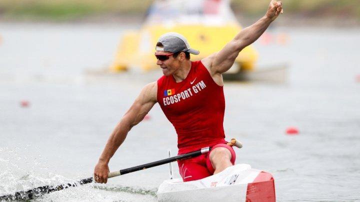 Serghei Tarnovschi a câștigat medalia de aur în proba de 500 m