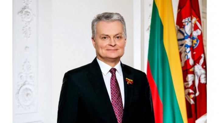 Președintele Lituaniei, în vizită oficială la Chișinău