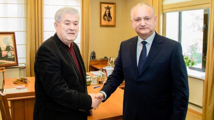 Dodon a cedat în fața lui Voronin. Liderul PCRM, în capul listei Blocului Comuniștilor și Socialiștilor