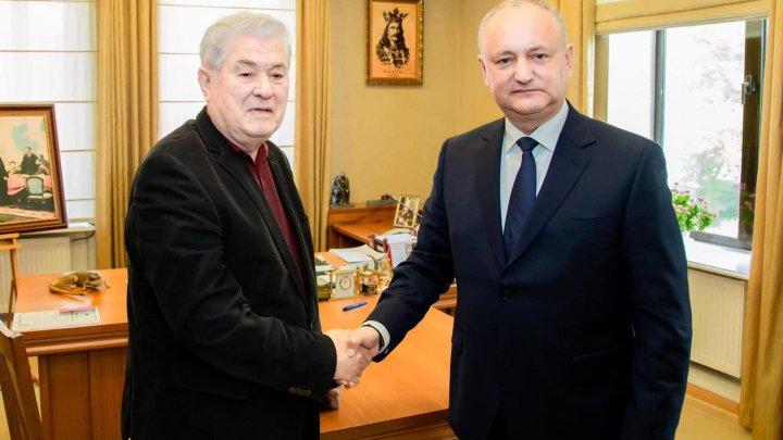 Igor Dodon a anunțat primele zece persoane de pe lista blocului PCRM-PSRM