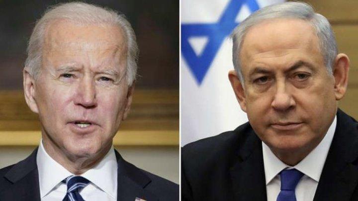 Preşedintele Biden a discutat telefonic cu premierul israelian Netanyahu