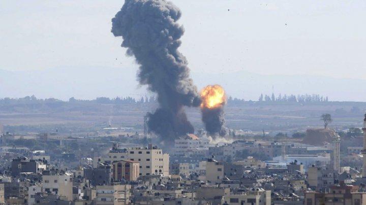 Armata israeliană anunţă că a efectuat 50 de bombardamente în 40 de minute
