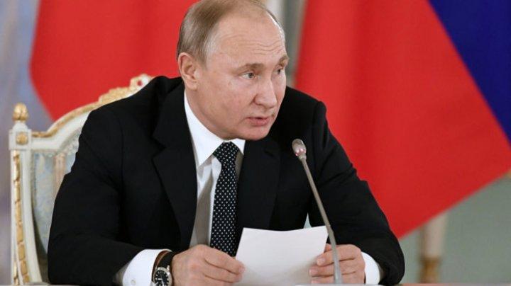 Preşedintele Vladimir Putin îndeamnă Israelul şi palestinienii să pună capăt escaladării conflictului