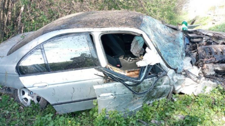 ACCIDENT GRAV la Șoldănești de Paște. Sunt victime (FOTO)