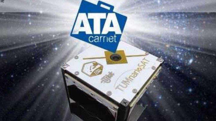 În premieră, CCI a eliberat Carnetul ATA pentru primul satelit al Republicii Moldova