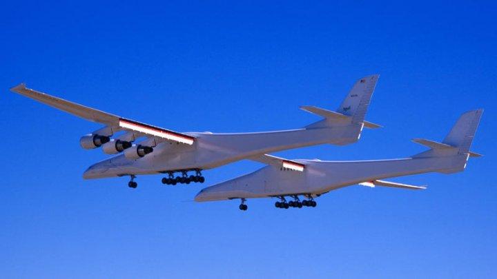 Cel mai mare avion din lume a efectuat al doilea zbor de test