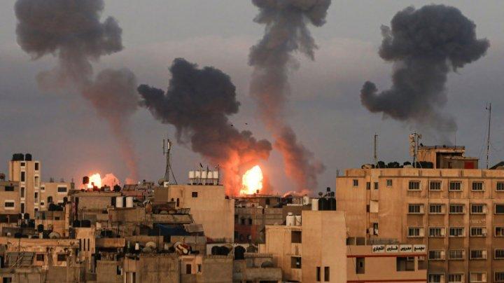 Israel: 3.150 de rachete au fost lansate din Gaza spre teritoriul său în ultima săptămână
