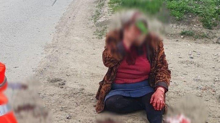 Un bătrân de 90 de ani a accidentat o femeie și a plecat mai departe. Șoferul a fost reținut de poliție