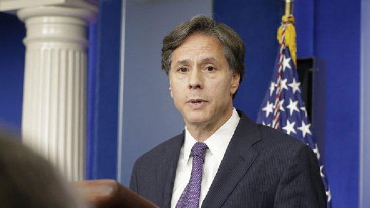 Secretarul american de stat, vizită la Kiev: SUA își reafirmă sprijinul faţă de suveranitatea şi integritatea Ucrainei