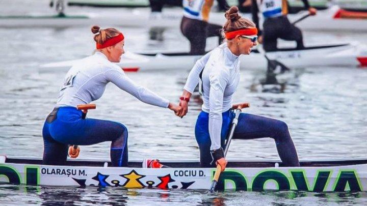 Canotoarele Daniela Cociu și Maria Olărașu s-au calificat la Jocurile Olimpice de la Tokyo