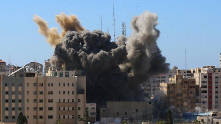 Administrația Biden a cerut Israelului explicații pentru bombardarea sediilor din Gaza ale AP și Al Jazeera