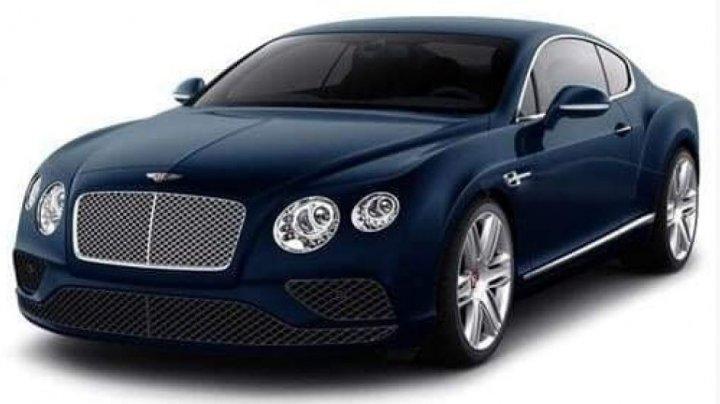 Un automobil de lux marca Bentley Continental, printre bunurile sechestrate de ARBI săptămâna trecută