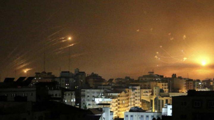 Hamas anunţă o ripostă cu peste 200 de rachete: Alarmele au răsunat în Tel Aviv şi Beer Şeva