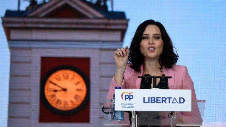 Partidul care a boicotat restricțiile anti COVID-19 a câștigat alegerile regionale din Madrid