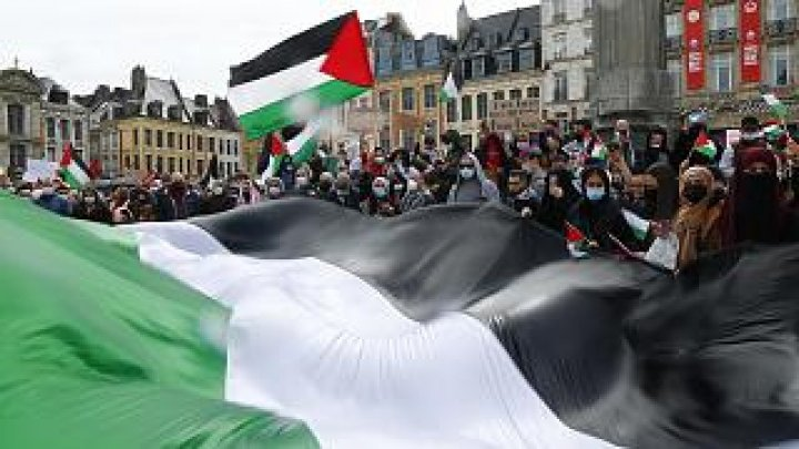 Proteste pro-Palestina la Paris, Londra și în orașe din America de Nord. S-au folosit gaze lacrimogene și tunuri de apă