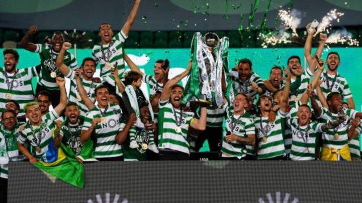 Sporting Lisabona au cucerit titlul în Portugalia după o pauză de 19 ani