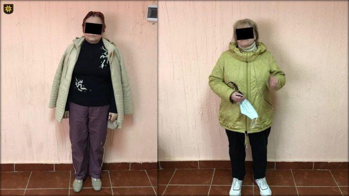 Două femei aflate în căutare pentru delapidarea averii străine, reținute de polițiști