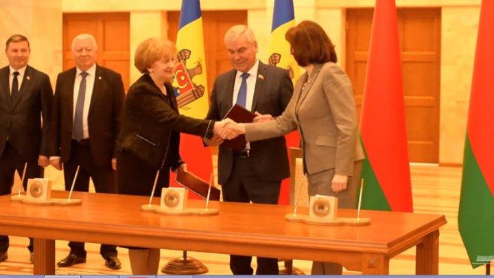 La Minsk a fost semnată Declarația comună a Parlamentului Republicii Moldova și Adunării Naționale a Republicii Belarus