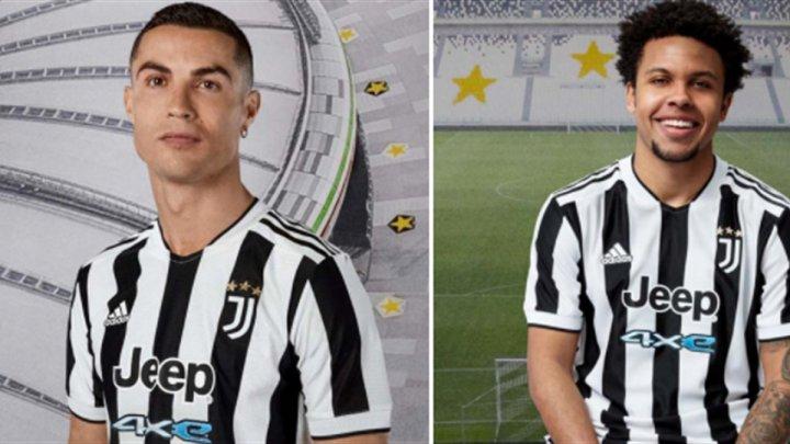 Juventus Torino și-a prezentat noile tricouri pentru sezonul următor