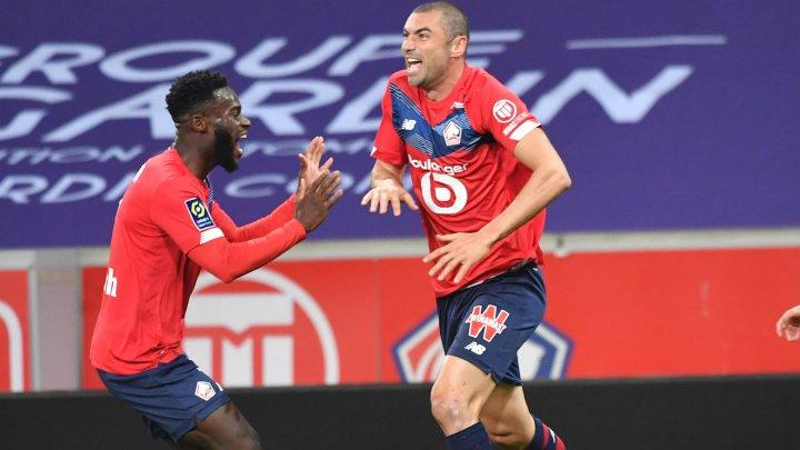 Lille au învins-o pe Lens cu 3-0, în deplasare, într-un meci din cadrul etapei a 36-a din Ligue 1