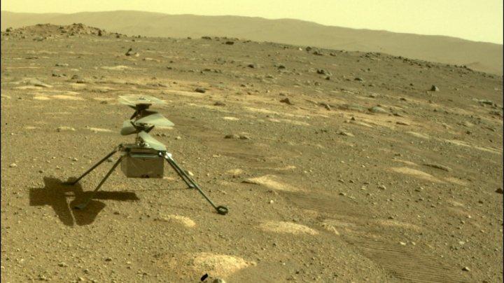 Elicopterul Ingenuity al NASA a primit o nouă misiune pe Marte
