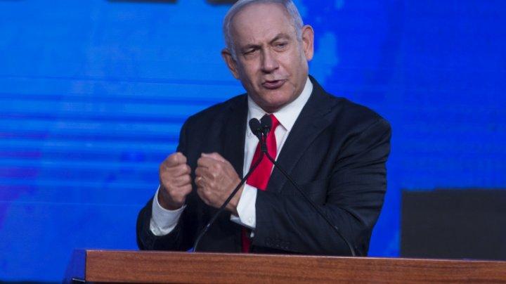 Câștig politic al lui Netanyahu, după tensiunile din Israel. Liderul opoziției are șanse minime să mai formeze un guvern