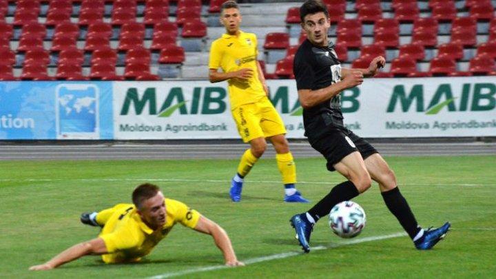 Vladimir Ambros de la Petrocub a marcat două goluri în meciul cu Dacia-Buiucani