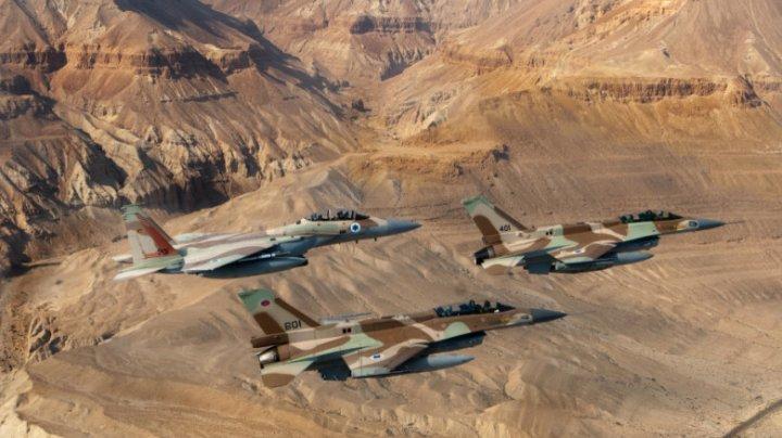 Israelul a bombardat sediul unei unități de informaţii a Hamas şi casele unor lideri islamişti