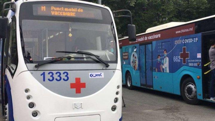 Unde vor staționa astăzi cele două puncte mobile de vaccinare anti-COVID