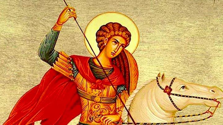 Creştinii ortodocşi îl cinstesc, astăzi, pe stil vechi, pe Sfântul Mare Mucenic Gheorghe