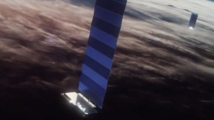 SpaceX colaborează cu Google pentru a dezvolta internet prin satelit