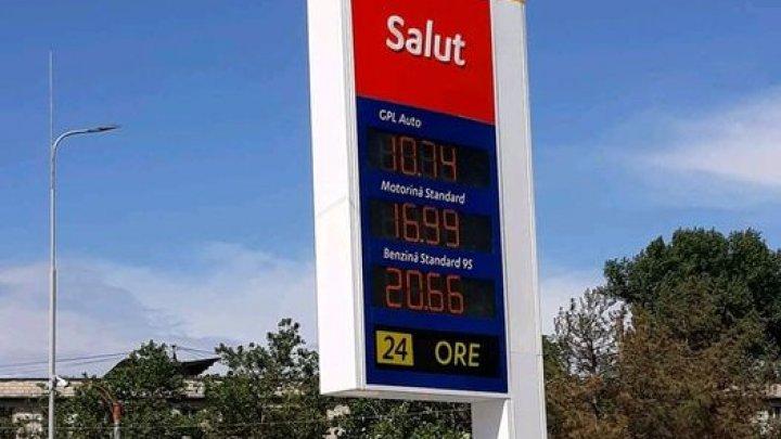 O nouă scumpire a carburanților! O reţea de benzinării a majorat preţurile la benzină şi motorină