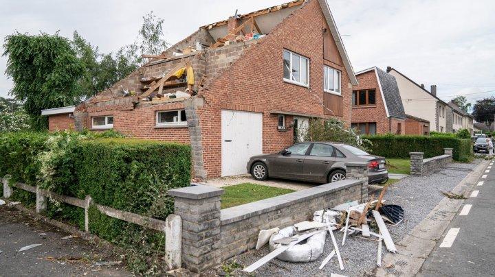 Belgia: Clădiri avariate şi 17 răniţi în urma unei tornade