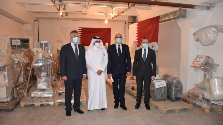 Un nou lot de asistență umanitară pentru tratamentul pacienților cu Covid-19, oferit Republicii Moldova, de către Statul Qatar