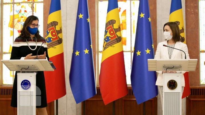 Sandu: Moldova, singura țară din Parteneriatul Estic care beneficiază de un plan de recuperare economică din partea UE (FOTO)