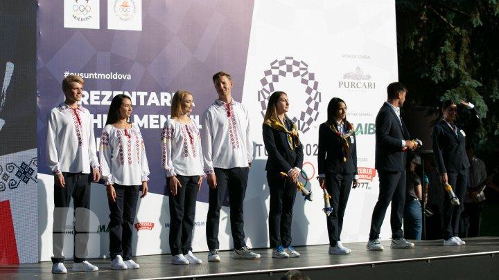 Prezentarea echipamentului pentru Jocurile Olimpice de la Tokyo (FOTOREPORT)