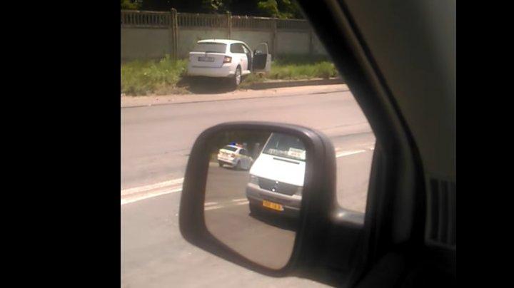 ACCIDENT la Sîngera. Doi şoferi au ajuns la spital (VIDEO)