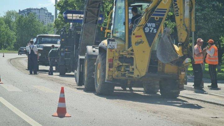 Edilul Capitalei, PRECIZĂRI privind lucrările de reparaţie de pe strada Albişoara